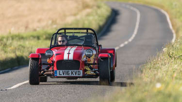 Caterham Seven 310r Review How Does The Most Powerful 1 6 Fit In The Seven Range Evo