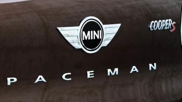 Mini Paceman Cooper S badge