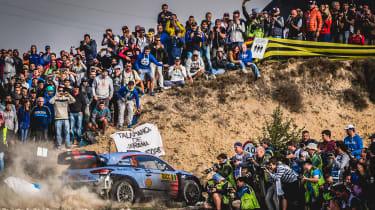 WRC Rally Catalunya - i20 rear