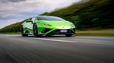 Lamborghini Huracan RWD - front tracking