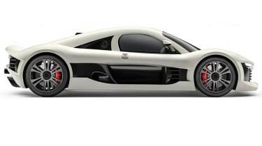 Minerva J.M. Brabazon hybrid supercar side profile
