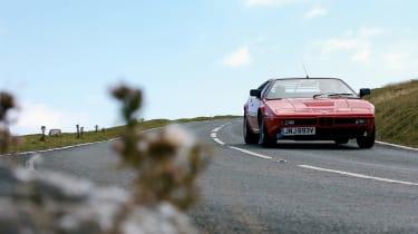 BMW M1 – front cornering