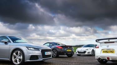 Group shot - Audi TT