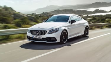 Mercedes-AMG C 63 S Coupe - white opener