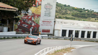 Bentley Continental GT review – corner