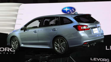 Subaru Levorg concept estate rear