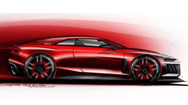 Audi Quattro concept side profile