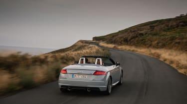 Audi TT facelift - rear