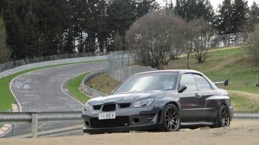 Revolution Subaru Impreza Project STI Nurburgring grey