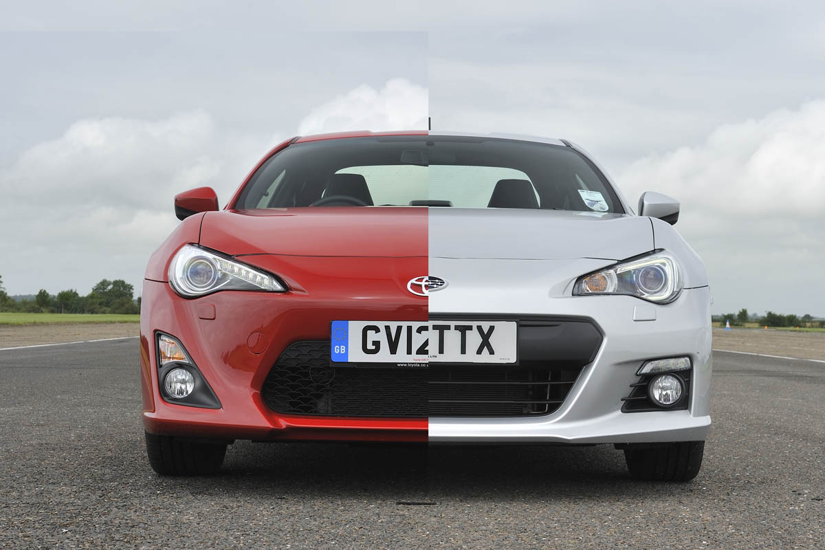 Subaru Brz Vs Toyota 86 >> Subaru Brz Vs Toyota Gt86 Review Price And Specs Pictures