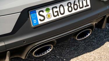 Porsche Cayenne Coupe Turbo GT – exhaust