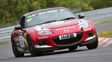Mazda MX-5 at Nurburgring 24 Hours