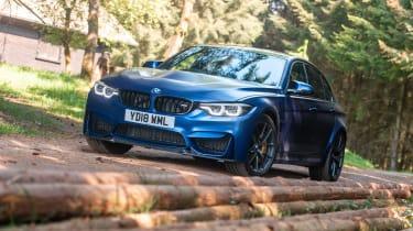 2018 BMW M3 CS - front