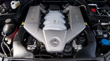 Mercedes-Benz C63 AMG Coupe – engine