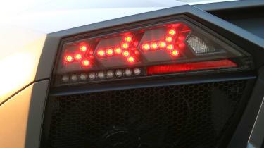 Lamborghini Reventon rear light