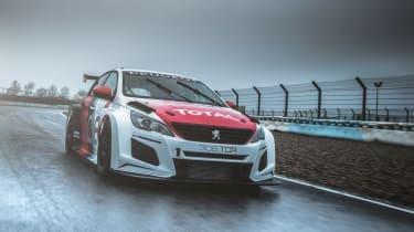 Peugeot Sport 308 TCR front