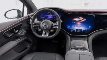 Mercedes-AMG EQS53 – dash