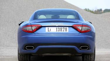 2012 Maserati GranTurismo Sport rear view
