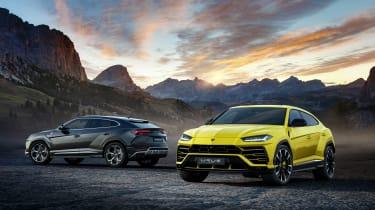 Lamborghini Urus – yellow and grey