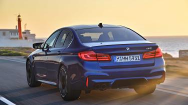 BMW M5 review - rear
