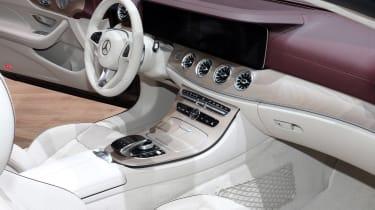Mercedes E-Class Cabriolet - Geneva interior