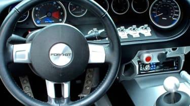 Jenson Button Ford GT - interior