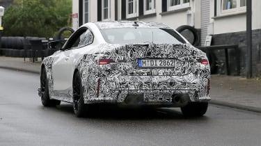 BMW M4 CSL spy 2021 – 3