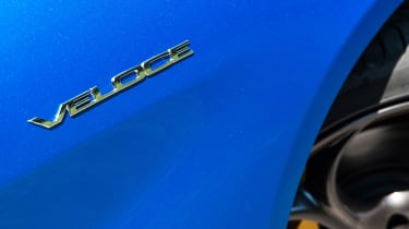 Alfa Romeo Giulia Veloce - badge