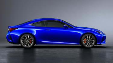 Lexus RC coupe facelift - profile