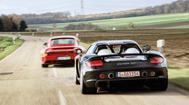 Porsche Carrera GT & 959 - rear