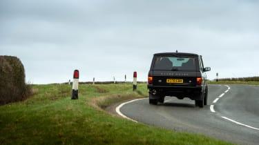Bishops Heritage Range Rover – rear
