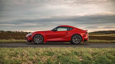 Toyota Supra 2.0 review - profile