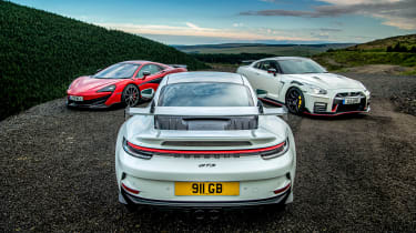 992 GT3 group test – rear static