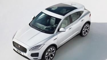 Jaguar E-Pace - white static top