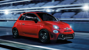 Abarth 595 Pista - front