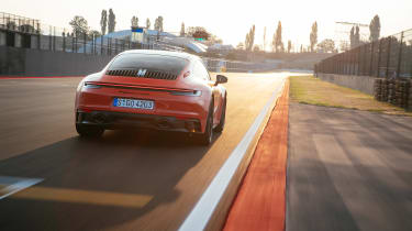 Porsche 911 GTS review (992) – rear