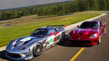 SRT Viper GTS-R racing car