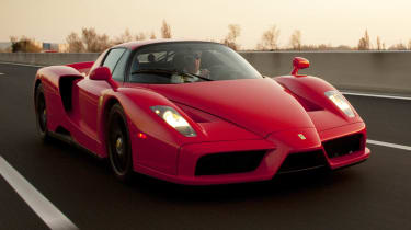 Ferrari Enzo road trip videos