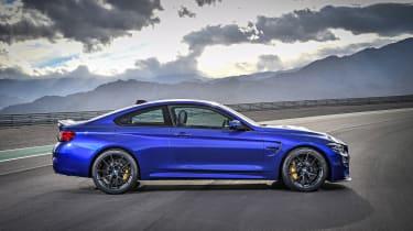 BMW M4 CS - side profile