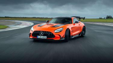 Mercedes-AMG GT Black Series - slide tracking