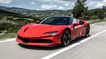 Best hybrid cars 2021 - SF90 tracking