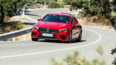 Mercedes-AMG CLA45 S - turn in