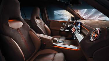 Mercedes GLB Concept - seats