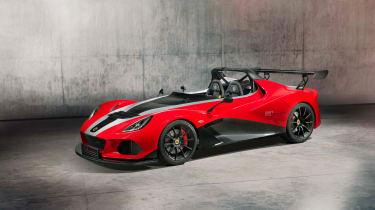 Lotus 3-Eleven – front quarter