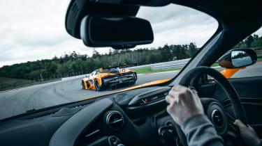 McLaren 720S track pack - interior]