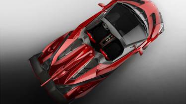 Lamborghini Veneno Roadster details, price and pictures
