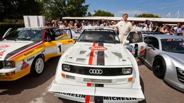 Audi Sport Quattro S1 and Walter Röhl