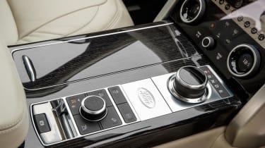 Range Rover P400e PHEV centre console