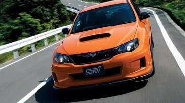 Subaru Impreza WRX STI tS Type RA orange front