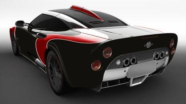 Spyker Aileron SE - rear red